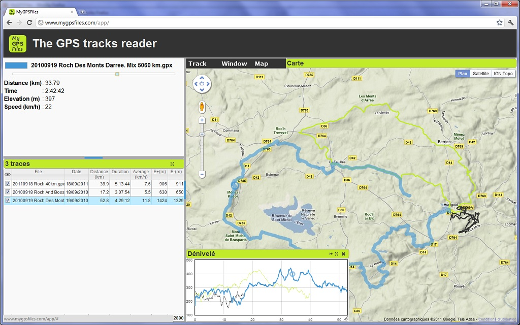 gpx viewer gratuit